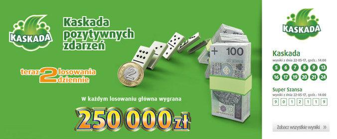 Zagraj na prawdziwe pieniądze w Kaskada online